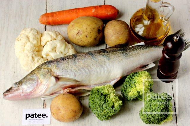 Рецепт приготовления рыбы с овощами в мультиварке