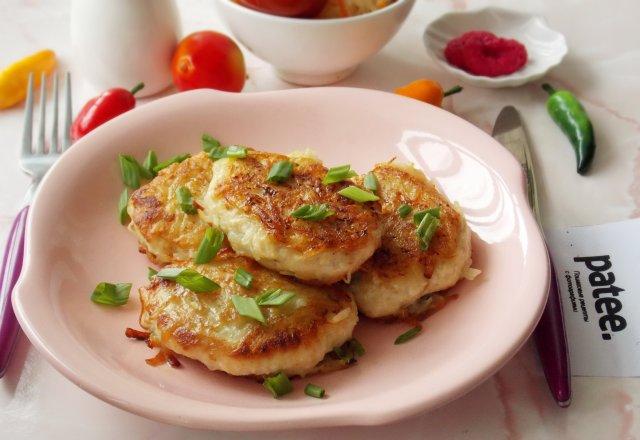 Куриные котлеты в картофельной панировке