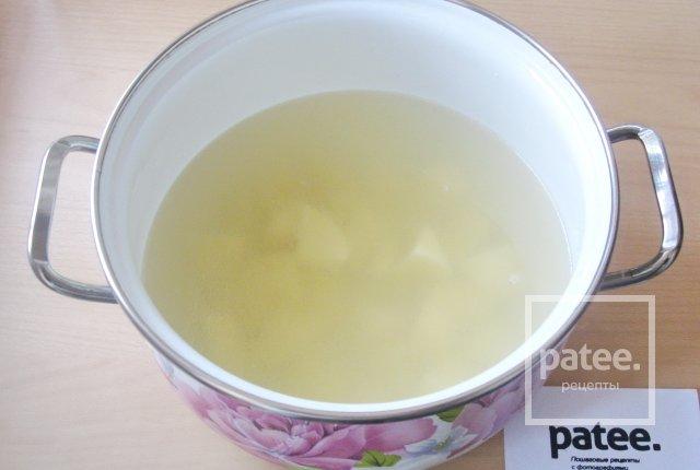 Овощной суп с пекинской и савойской капустой - Шаг 3