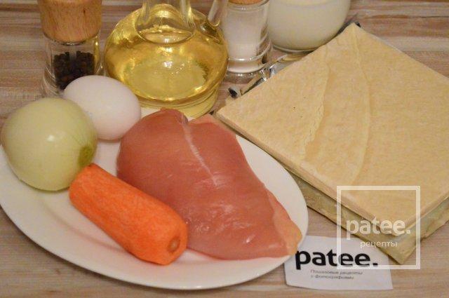 Закусочные мини-пирожки с курицей