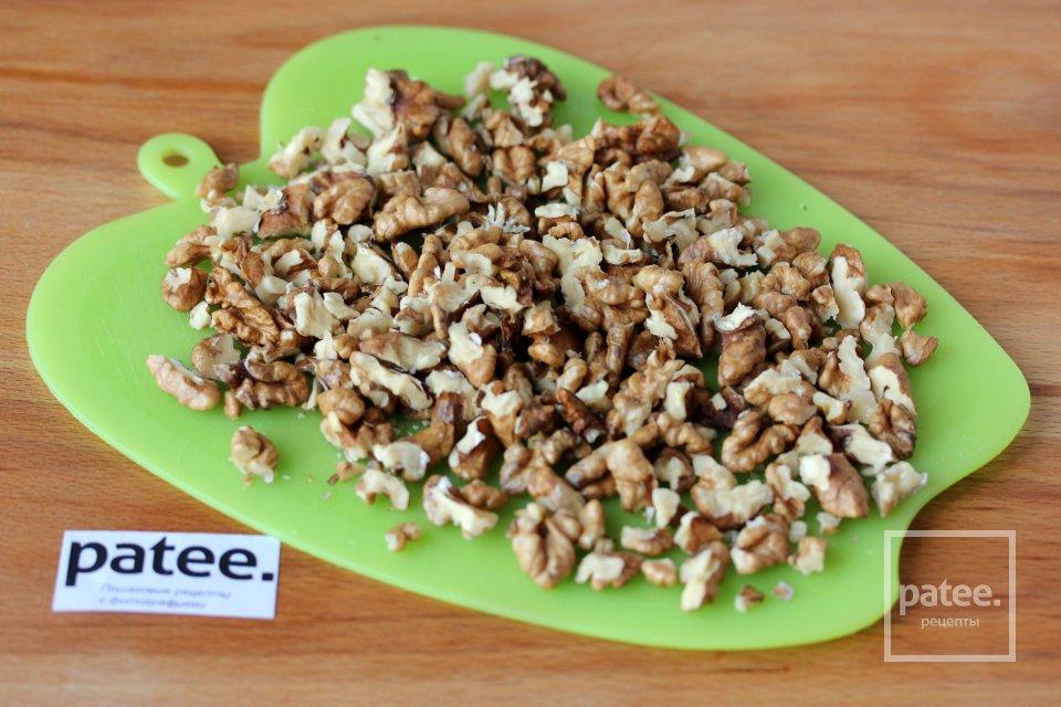 Паштет из фасоли с грецкими орехами
