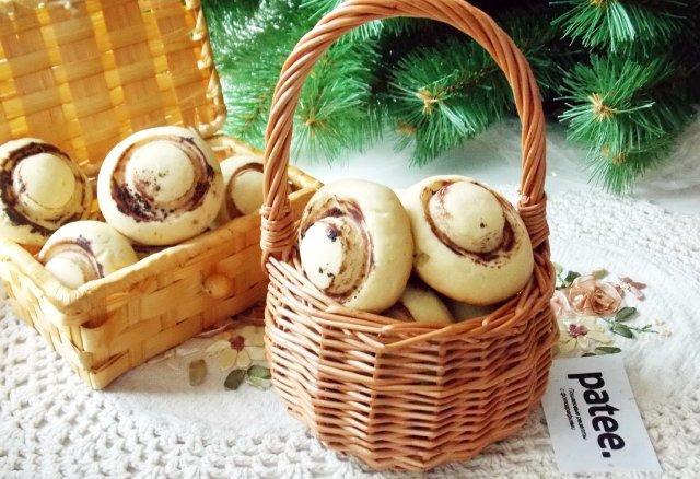Печенье Грибы