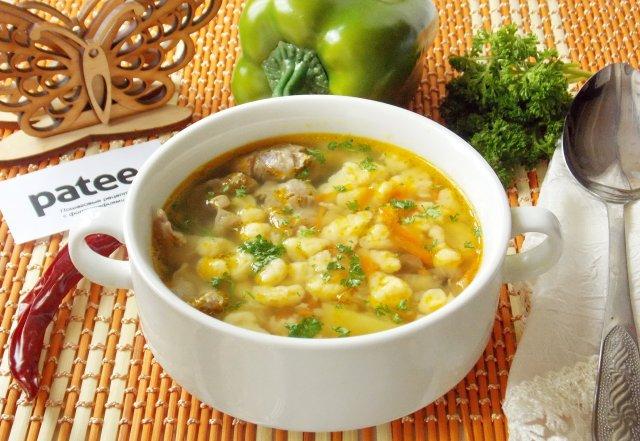 рецепты супа с потрошками