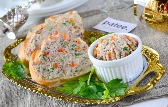 Бутерброды с сардинами