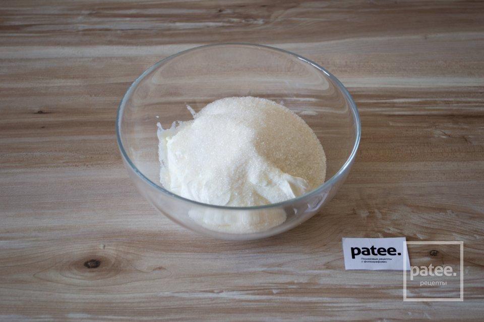 Полосатый чизкейк на овсяной основе, пошаговый рецепт с фото