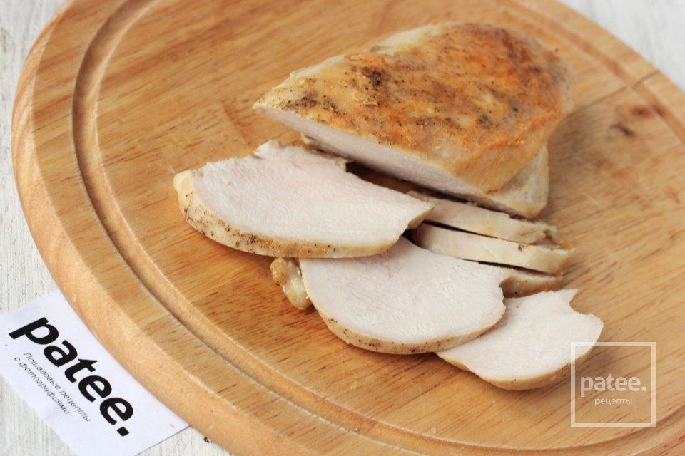 Куриная грудка бутербродная