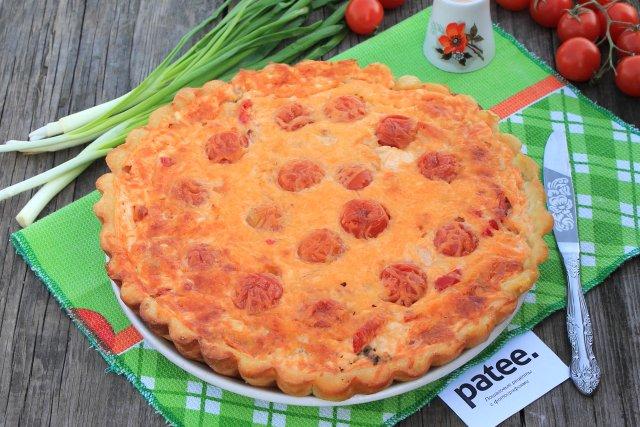 Мясной пирог на картофельном тесте
