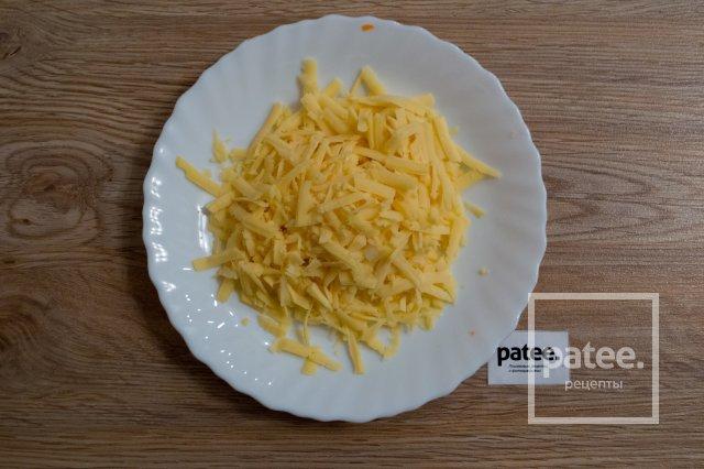Запеченные перцы с курицей и сыром