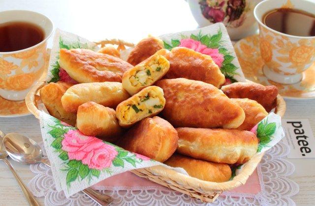 пирожки со щавелем и яйцом жареные рецепт