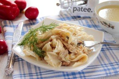 Рецепт Бешбармак с курицей
