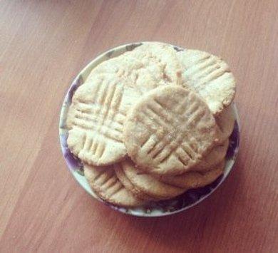 Рецепт Печенье с арахисовым маслом