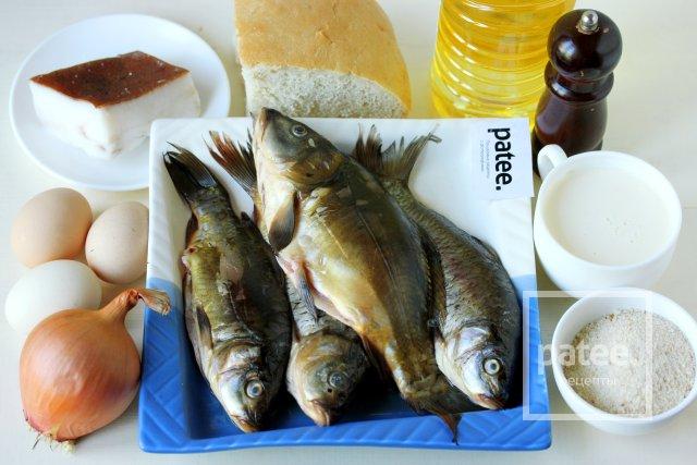 Котлеты из речной рыбы