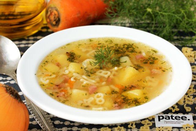 рецептура и технология приготовления суп картофельный с макаронами