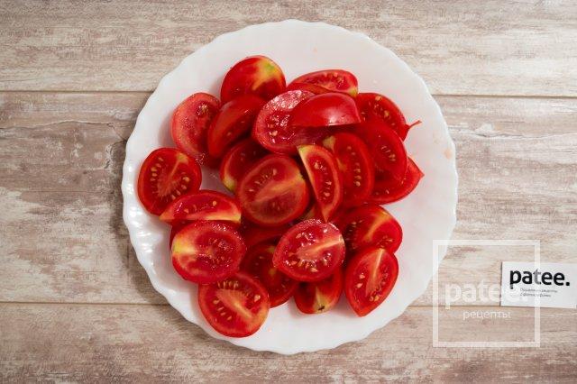 Фокачча с помидорами
