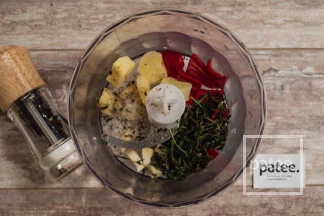 Имбирное масло с перцем и тимьяном