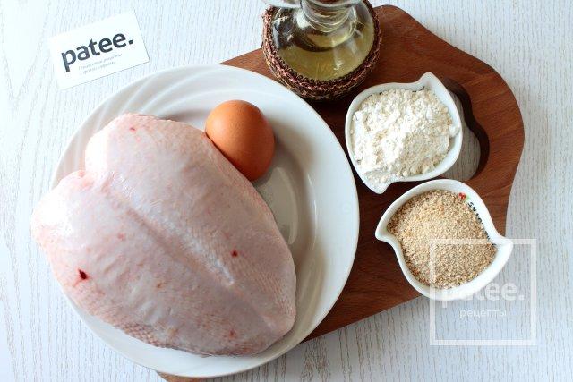 Шницель из курицы