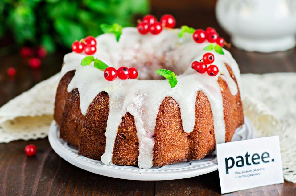 Мраморный ягодный кекс