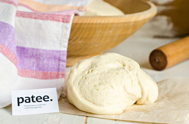 Пирожковое тесто на разрыхлителе