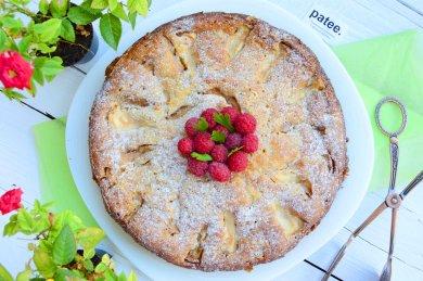 Рецепт Грушево-яблочный пирог