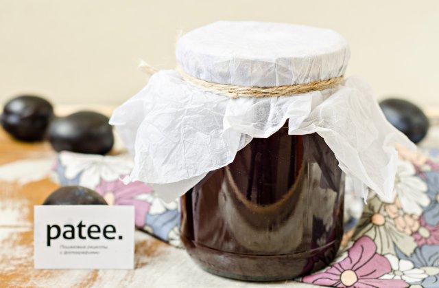 Сливово-шоколадное варенье