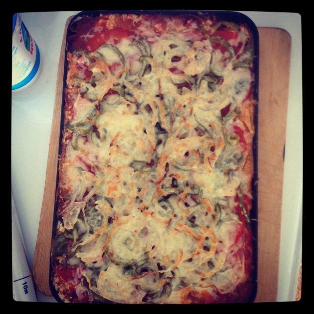 Пицца (домашняя)🍕🍕