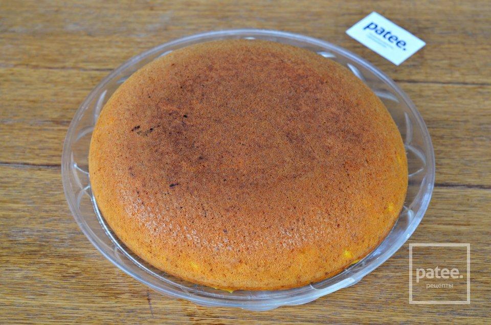 Морковно-апельсиновый кекс