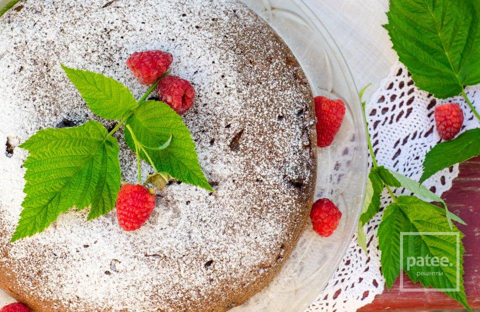 Творожный пирог с зефиром