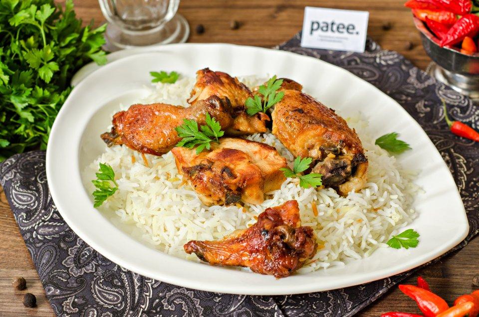 Рис с курицей по-азербайджански