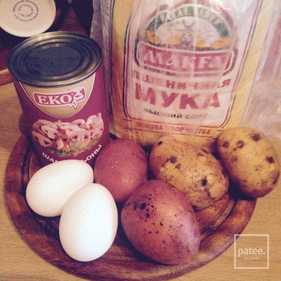Картофельные Зразы / Пирожки без дрожжей