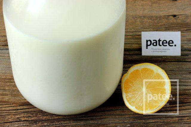 Сыр домашний с лимонным соком рецепт