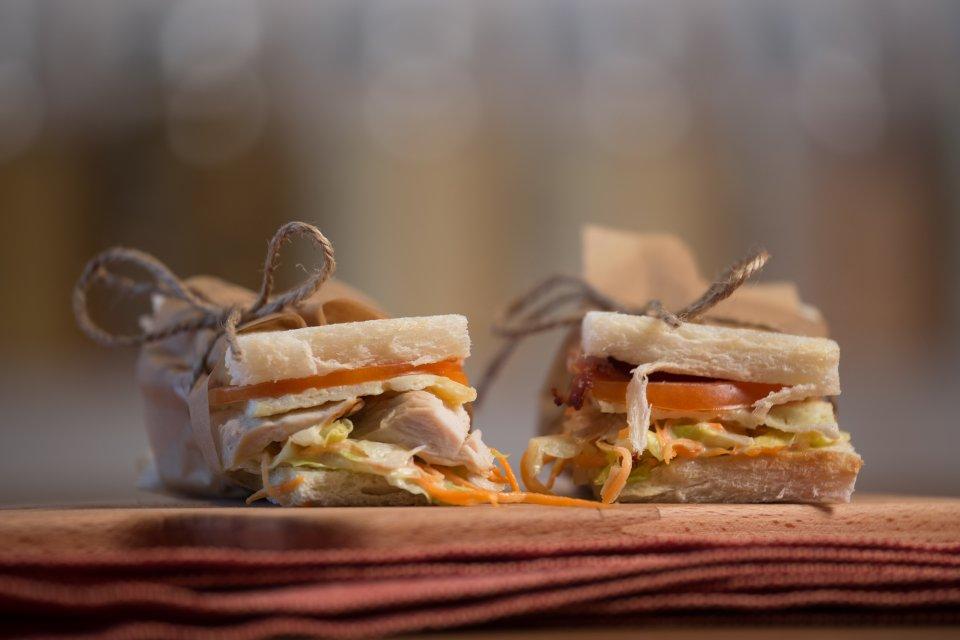 Самый вкусный сэндвич с курицей