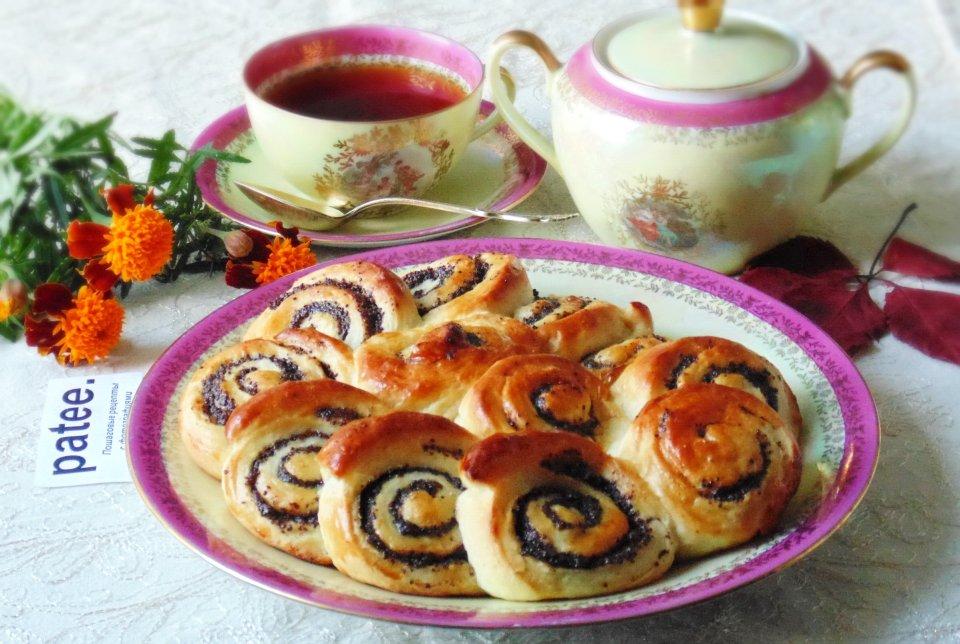 Кружевные пироги  с маком