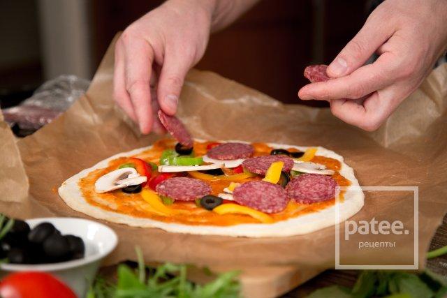 Домашняя пицца за 15 минут - Шаг 21