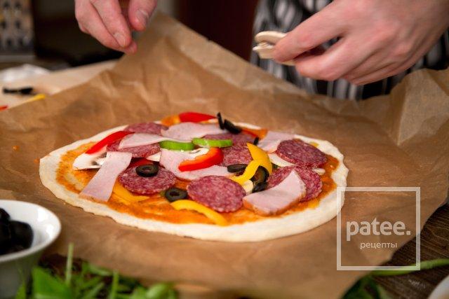 Домашняя пицца за 15 минут - Шаг 22