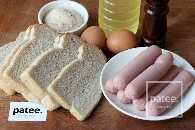 Сосиски сухарях рецепт с фото