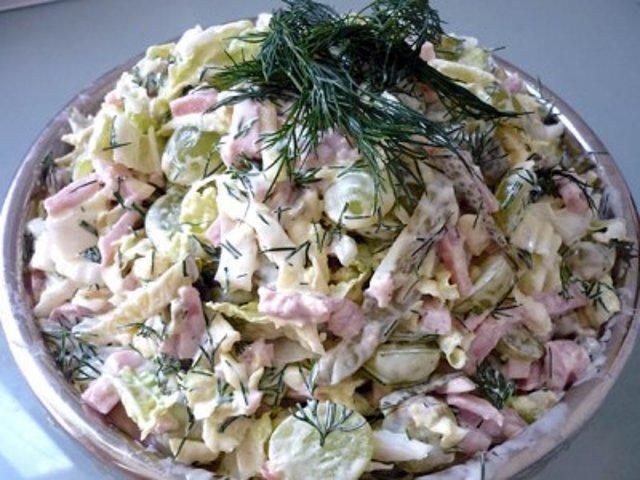салат на каждый день простой рецепт