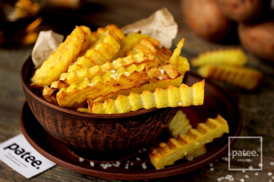 Как приготовить картофель фри в духовке