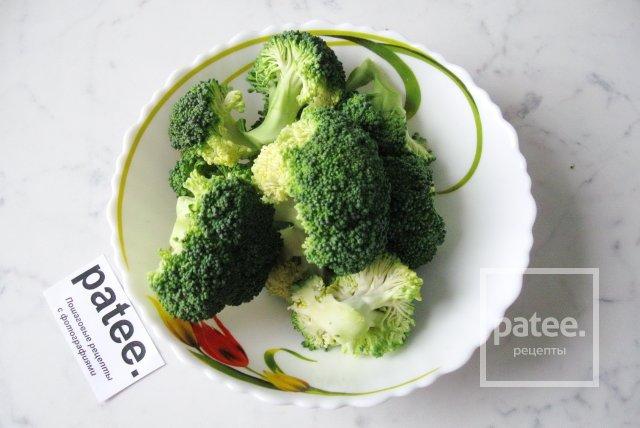 Жареная брокколи рецепт пошагово