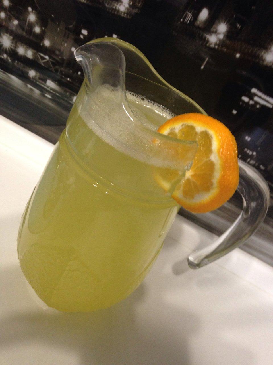 Лимонно-апельсиново-мандариновый лимонад
