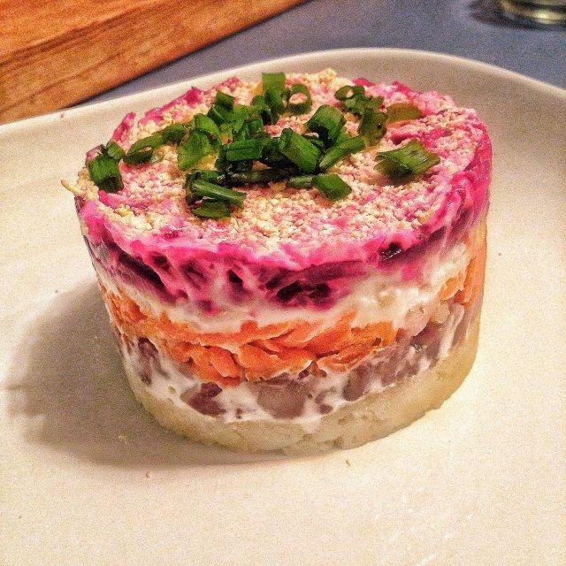 салат шуба рецепт с фото