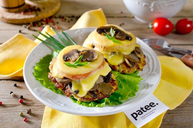 Куриное филе с грибами и с сыром в духовке рецепт пошагово 38