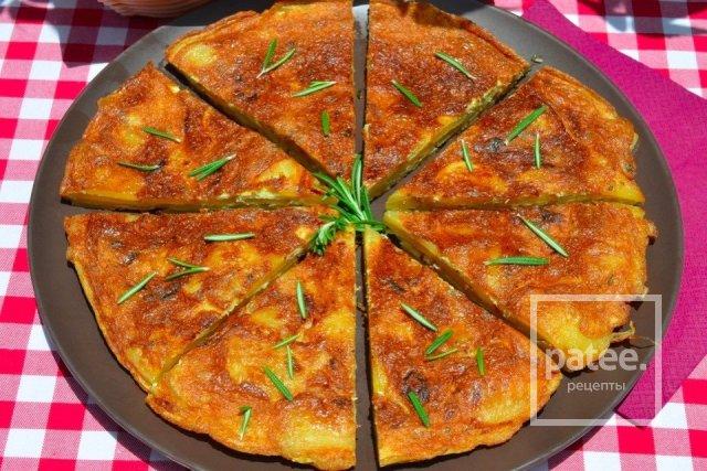 Испанская тортилья с фото