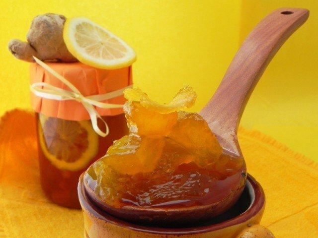Лимонное варенье с имбирем рецепт с фото