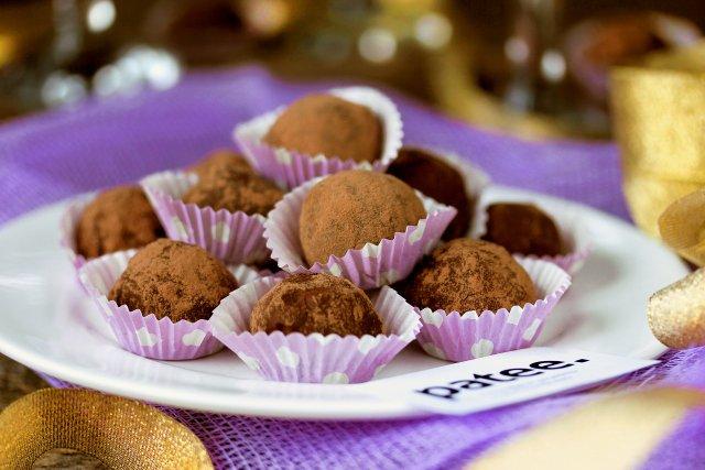Домашние шоколадные трюфели