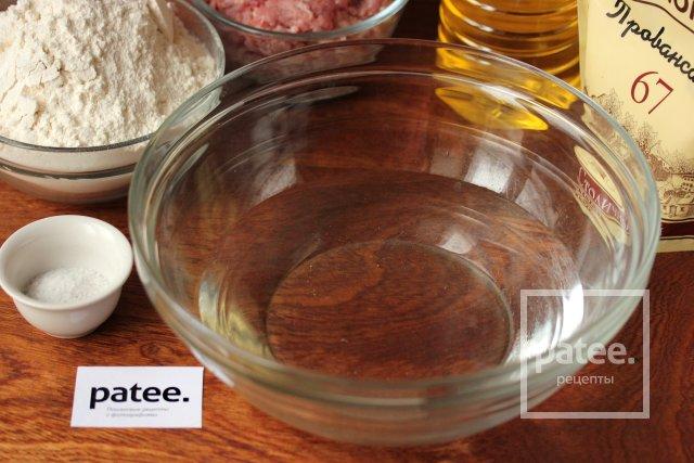 Чебуреки (тесто на майонезе)