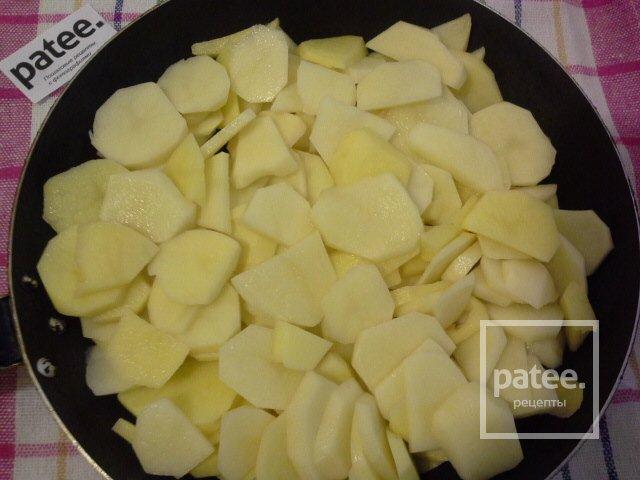 Картофель с чесноком и специями