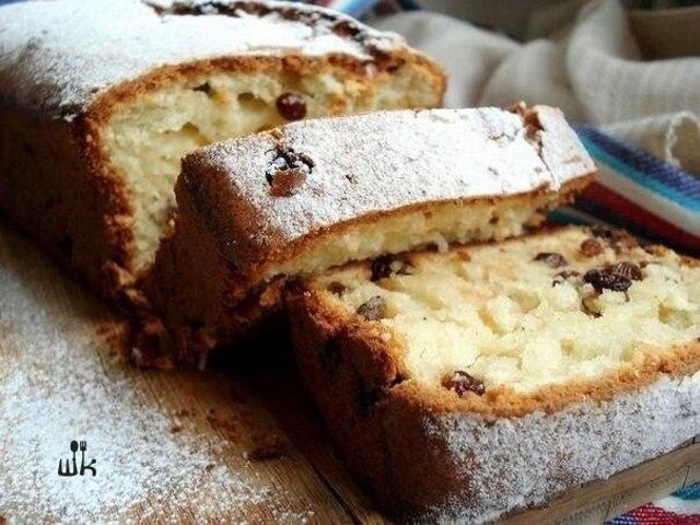 Рецепт кекс со сметаной