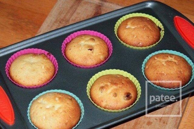 Рецепт вкусного творожного кекса с изюмом
