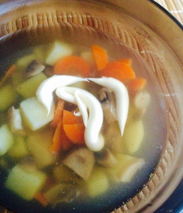 Рецепт диетического грибного супа из шампиньонов