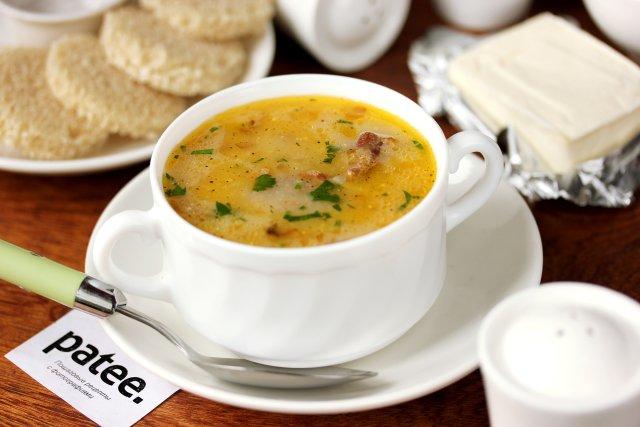 Как сварить суп с плавленными сырками и вермишелью — photo 7